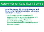 references for case study 6 cont d