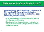 references for case study 6 cont d2