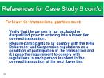 references for case study 6 cont d4