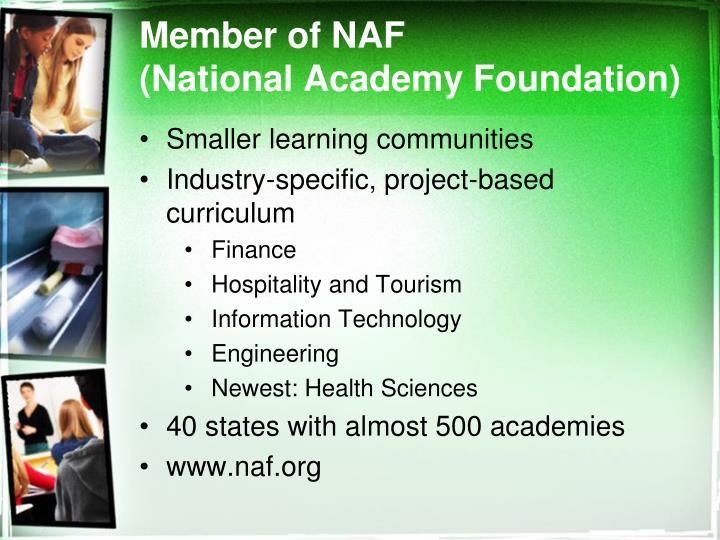 Member of NAF