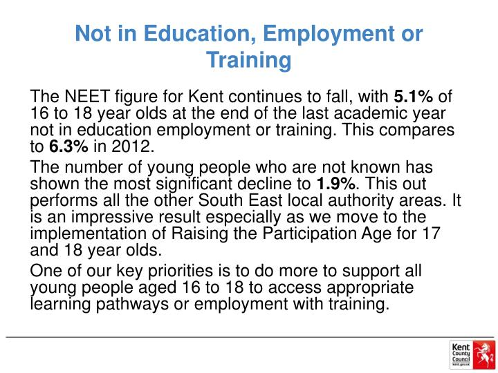 Not in Education, Employment or Training