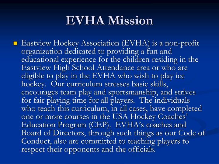EVHA Mission