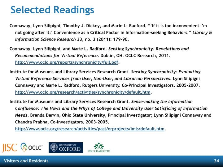 Selected Readings