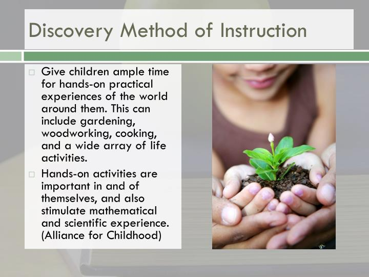Discovery Method of Instruction