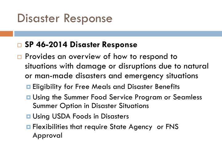 Disaster Response