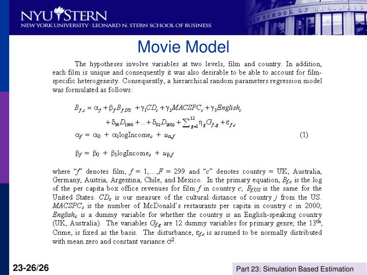 Movie Model