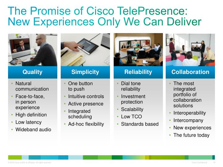 The Promise of Cisco TelePresence: