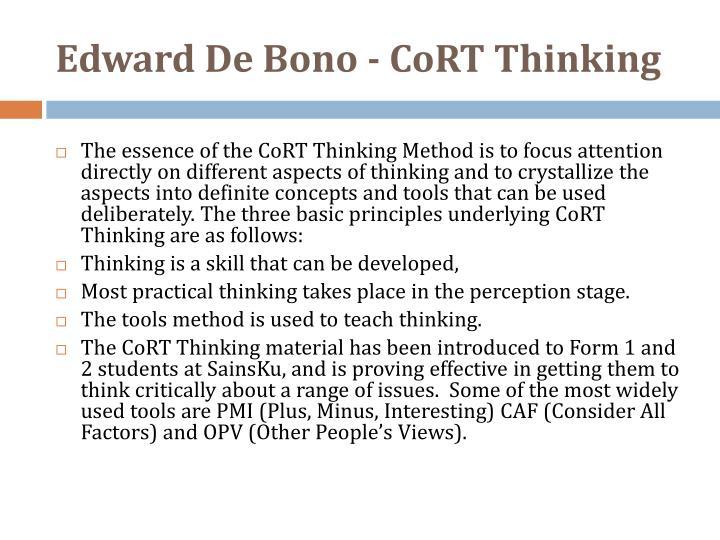 Edward De Bono -