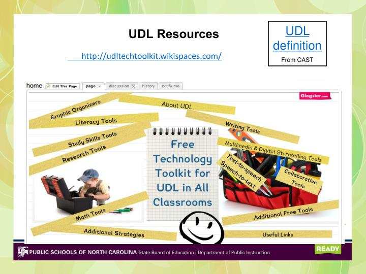 UDL Resources