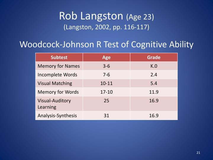 Rob Langston