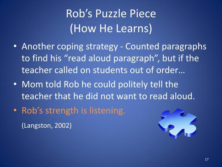 Rob's Puzzle Piece