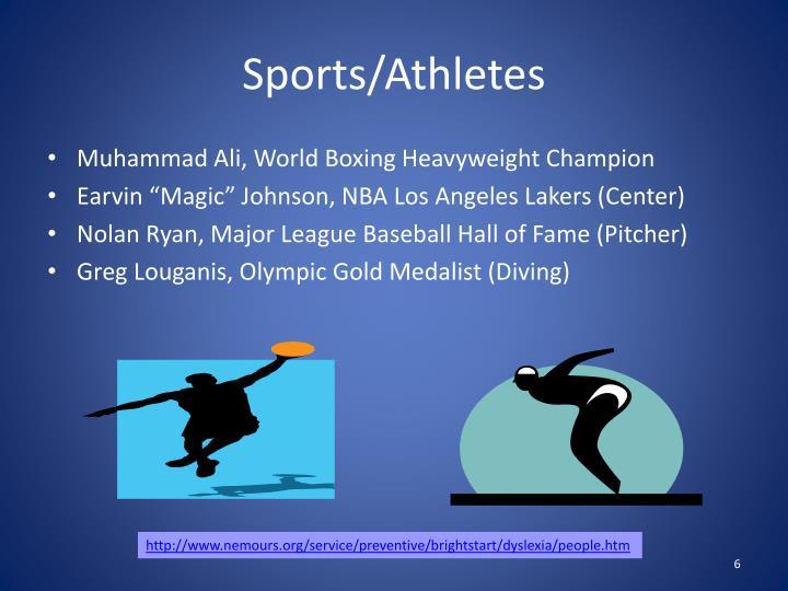 Sports/Athletes