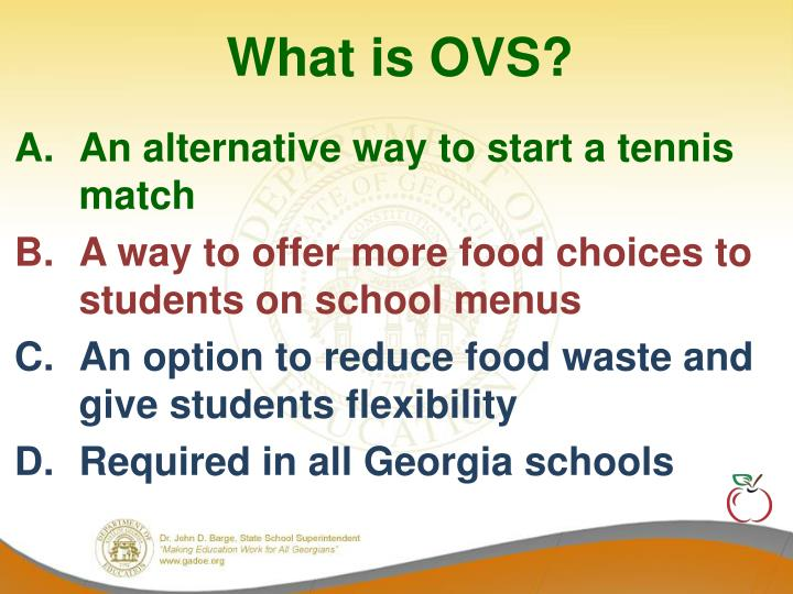 What is OVS?