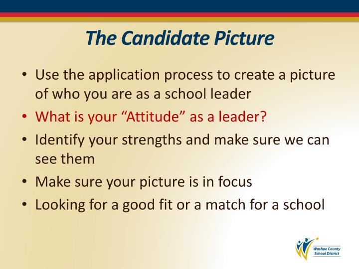 The Candidate Picture