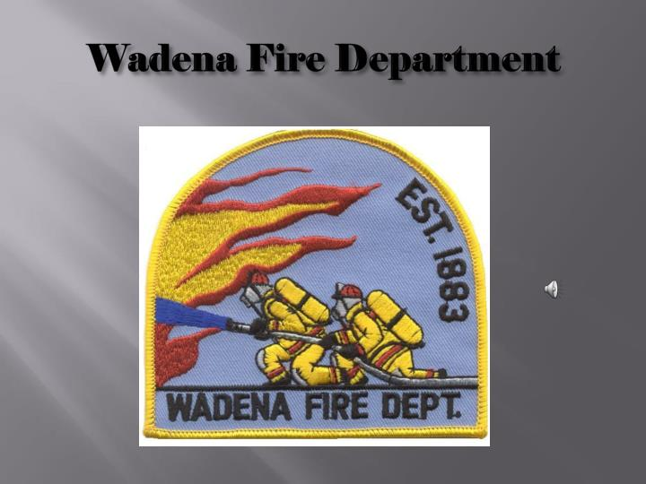Wadena Fire Department