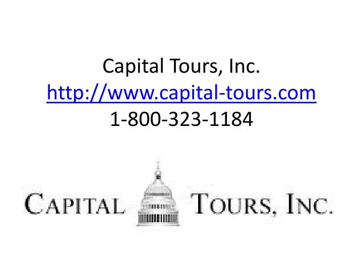 Capital Tours, Inc.