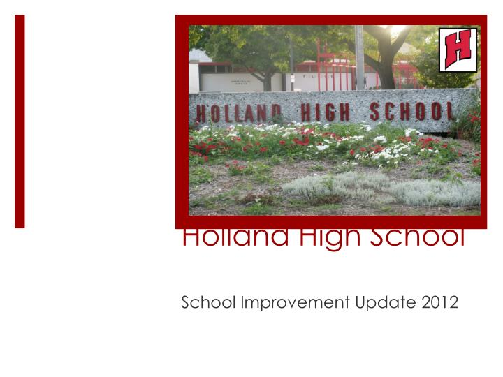 Holland high school