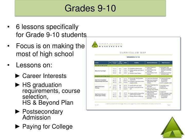 Grades 9-10