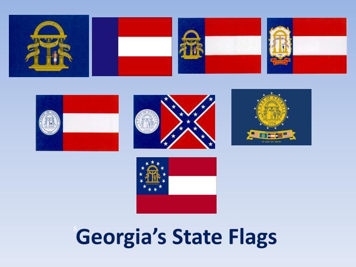 georgia state flag-#12