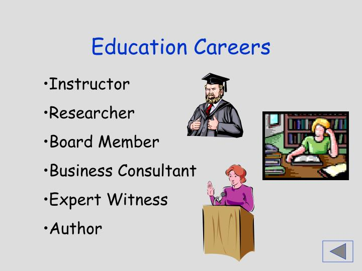 Education Careers