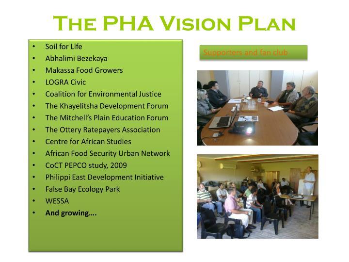 The PHA Vision Plan
