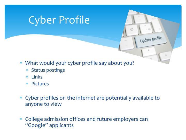 Cyber Profile