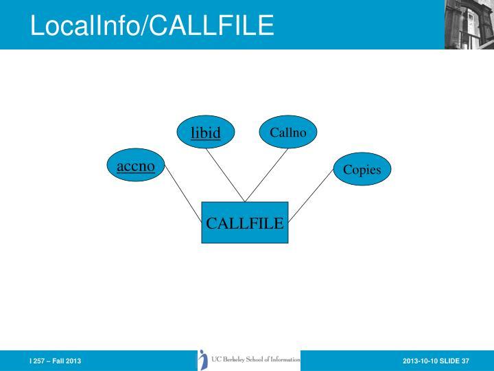 LocalInfo/CALLFILE