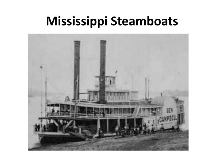 Mississippi Steamboats