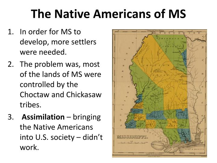 The Native Americans of MS