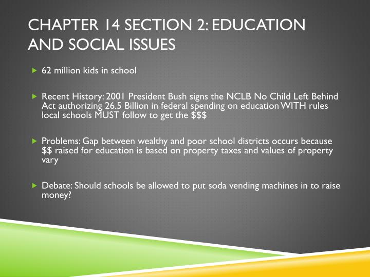 Chapter 14 section