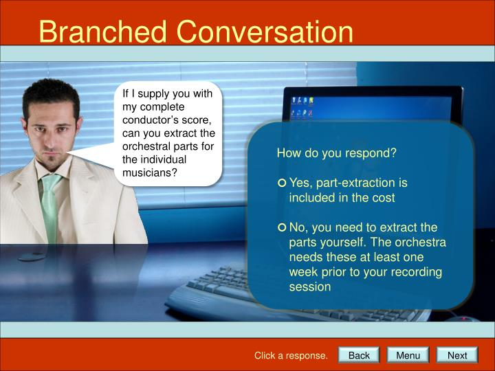 Branched Conversation