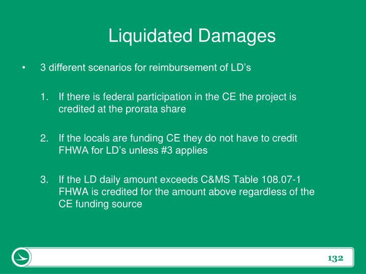 Liquidated Damages