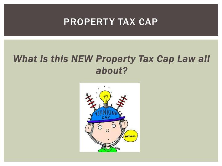 Property tax cap