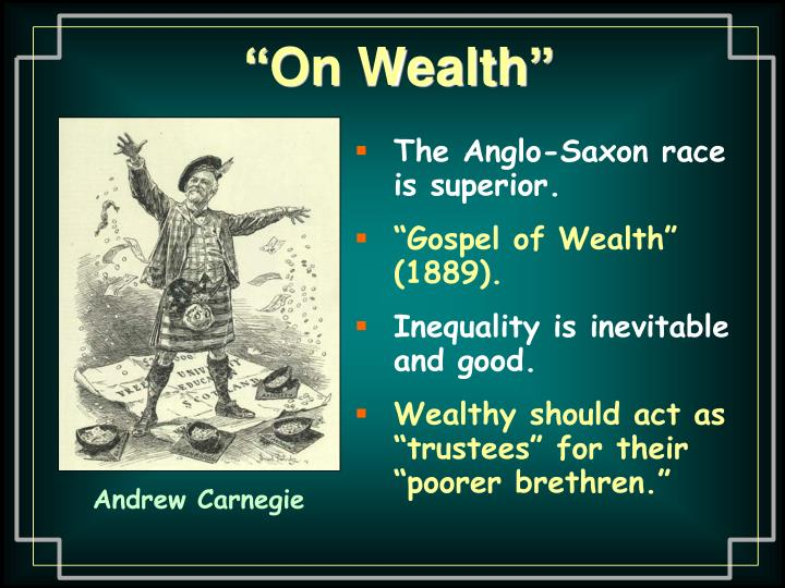 """On Wealth"""