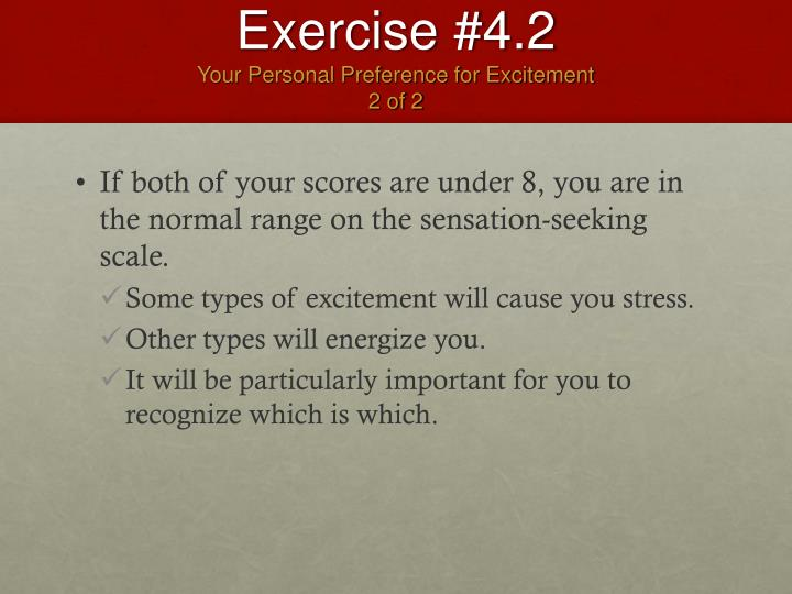 Exercise #4.2