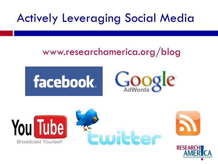 Actively Leveraging Social Media
