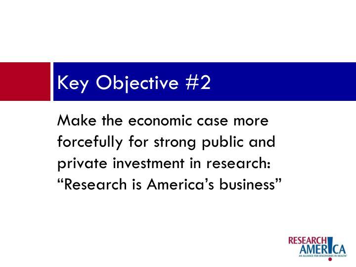 Key Objective #2