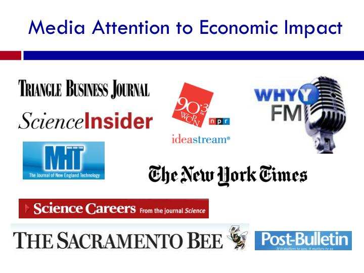 Media Attention to Economic Impact