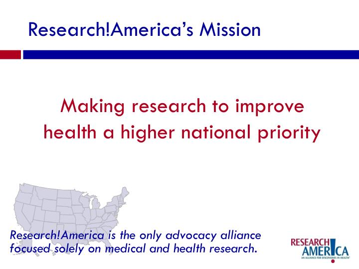 Research!America's Mission