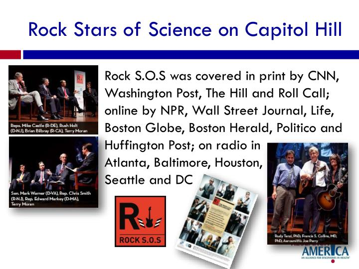 Rock Stars of Science on Capitol Hill