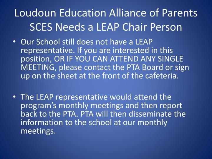 Loudoun Education Alliance of Parents