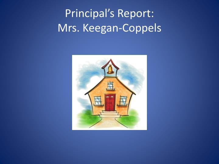 Principal's Report: