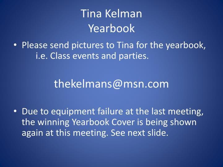 Tina Kelman