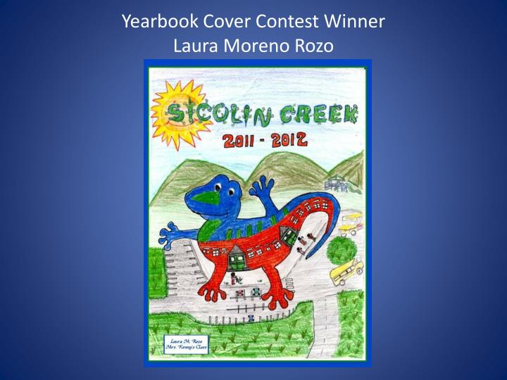 Yearbook Cover Contest Winner