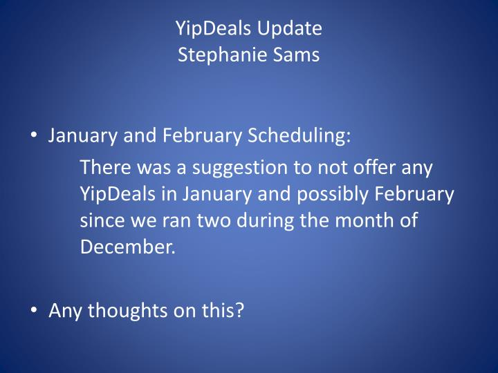 YipDeals