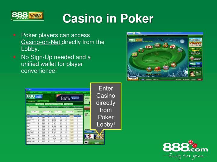Casino in Poker