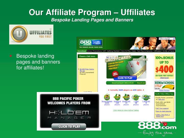 Our Affiliate Program – Uffiliates