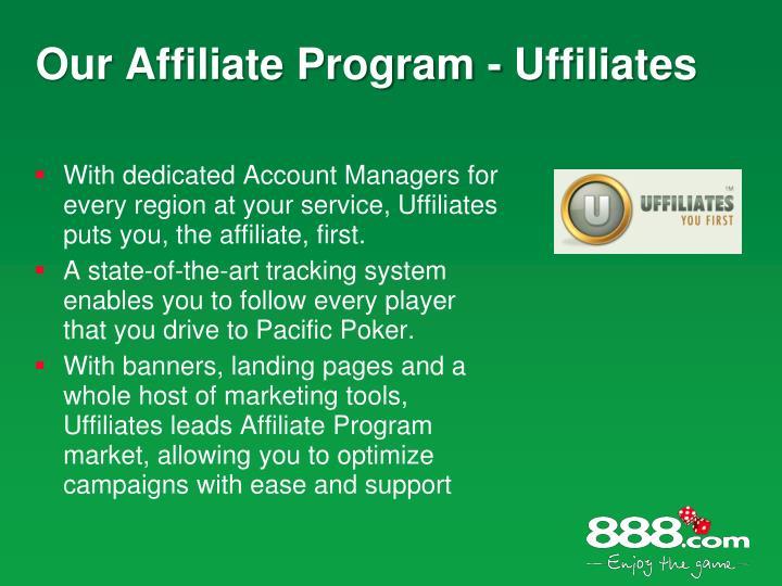 Our Affiliate Program - Uffiliates