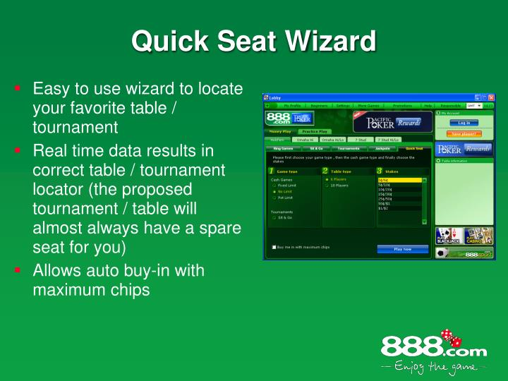 Quick Seat Wizard