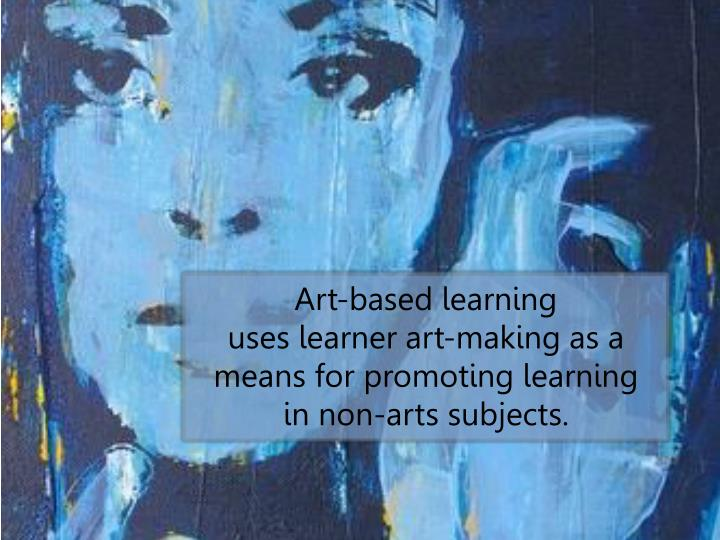 Art-based learning                                uses